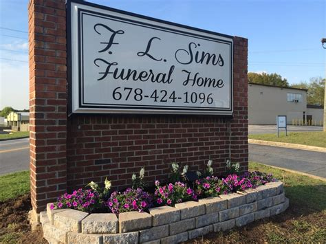 f l sims funeral home funeral services cemeteries
