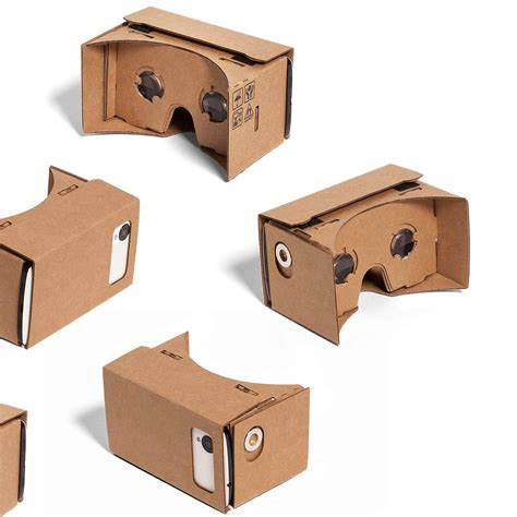 Vr Cardboard cardboard vr 3d glasses headset xl edition