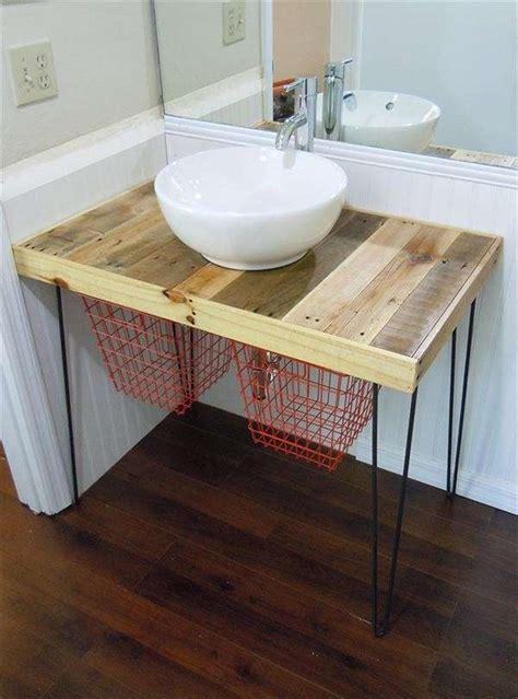 idee bagno fai da te arredare il bagno con i pallet foto design mag