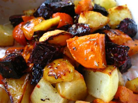 roasting root vegetables in oven roasted root vegetables