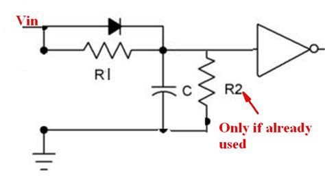 resistor and capacitor time delay batteries low battery detection circuit that can tell if temporary voltage dip or actual low