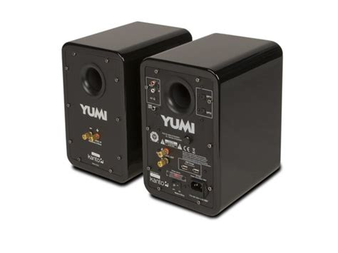yumi speakers w bluetooth gloss black