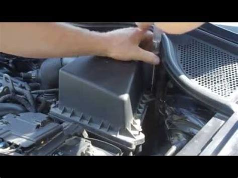 air changer de si鑒e how to change air filter at wv polo 6r 1 2 litres cgpa