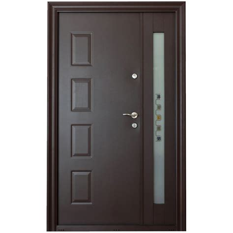 Usi Glisante De Interior Dedeman by Dedeman Usa Metalica De Exterior Atlas 2050 1200mm Stanga Dedicat Planurilor Tale