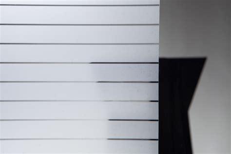 Sichtschutzfolie Fenster Wiederverwendbar by Statische Sichtschutzfolie Stripes Streifen 90cmx1 5m Ebay