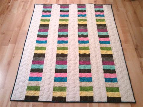 How Big Is A Jelly Roll Race Quilt by The Recipe Bunny Jelly Roll Quilt