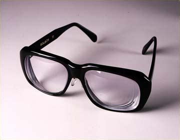 Legally Blind Diopter eyeglasses for the legally blind glass eye