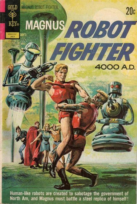 pin  zam  magnus robot fighter  publishers sci fi comics classic comic books