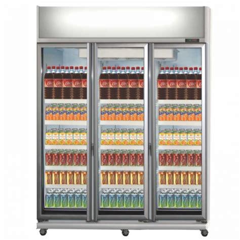 Lemari Pendingin Kaca expo 1300ah cn 3 tiga pintu showcase display cooler