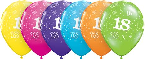 imagenes de cumpleaños numero 18 globo 18 a 241 os feliz cumplea 241 os 6ct cd 13852 globoshelio