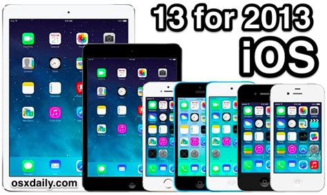 13 of the best ios tip collections for 2013