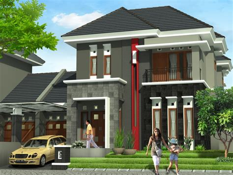 denah ideal rumah minimalis type 70 100 150