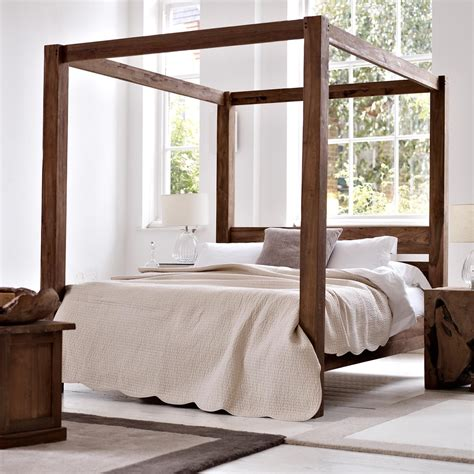 how to make a four poster bed four poster bed raft furniture london