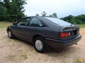 graphite gray metallic 1986 honda accord lxi hatchback