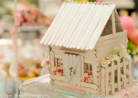 imagenes de casitas con palitos de helados casita con palitos de helado eskulanak pinterest