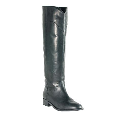chanel leather knee high boots size 11 41