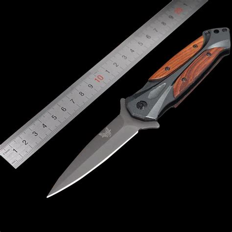 Outdoor Butterfly Folding Knife genuine butterfly knife outdoor cing folding knife swiss army knife steel survival