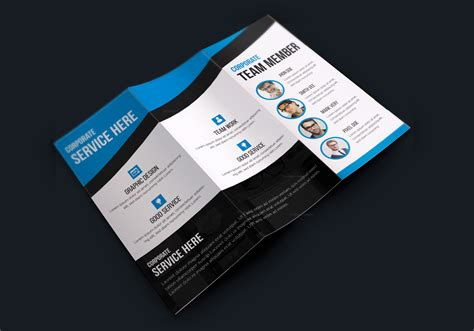 new cool tri fold brochure designs professional design by