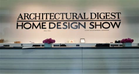 architectural digest home design show exhibitors furniture home and decoration