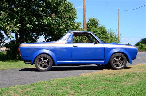 subaru brat custom subaru brat with an ea 82 engineswapdepot com