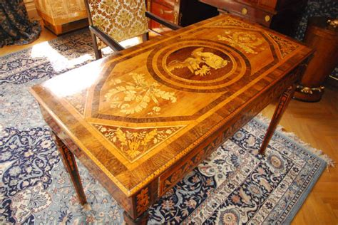 historical marquetry intarsia furniture woodworkingweb
