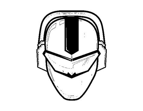 power rangers mask pages coloring pages
