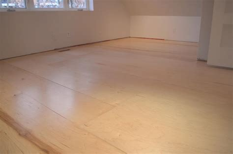 the house diy plywood floors