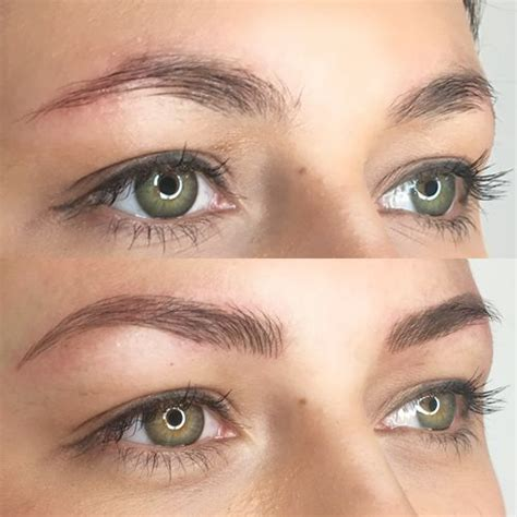 tattoo eyebrows sunderland luxe brows semi permanent hair stroke eyebrows