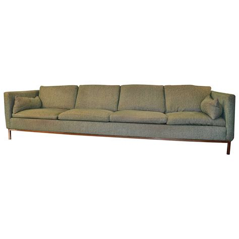 long settee extra long sofa by steelcase for sale at 1stdibs