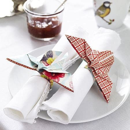 Origami Napkin Holder - 319 best images about napkins on place