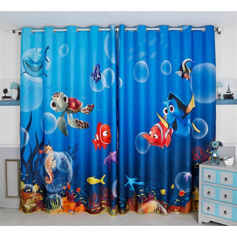 nemo curtains finding nemo curtains curtain ideas