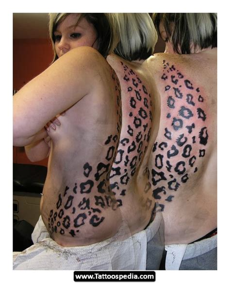 small leopard print tattoos leopard print designs tattoospedia