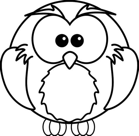 O The Owl Coloring Page by Pictures For To Draw Clipart Best