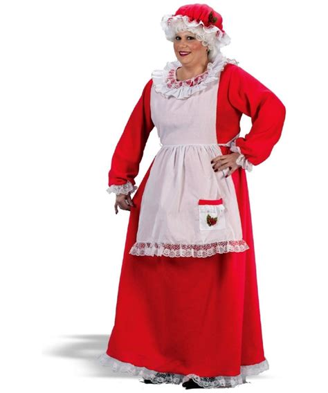 mrs claus costume adult halloween costumes
