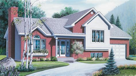 front to back split house front back split level house plans house design plans