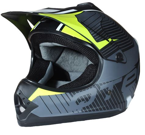 Childrens Motocross Style Mx Helmet Road Bmx Dirt