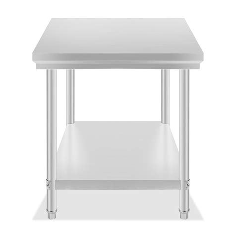 kitchen prep table stainless steel vevor new commercial kitchen stainless steel food work