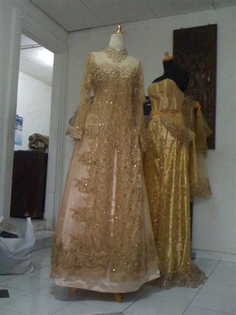 Kebaya Payet Knf 836 A 78 images about baju pengantin on delphiniums