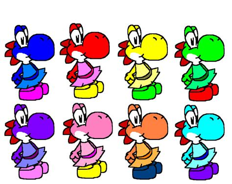 yoshi colors all yoshi colors www imgkid the image kid has it