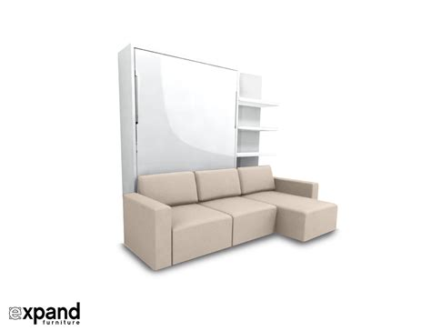 expand furniture clean murphysofa sectional wall bed expand furniture
