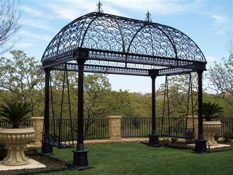 76 best wrought iron gazebos arches pergolas images on