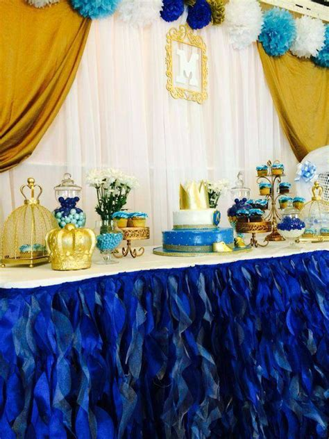 royal prince baby shower decorations royal prince baby shower ideas photo 3 of 4 catch my