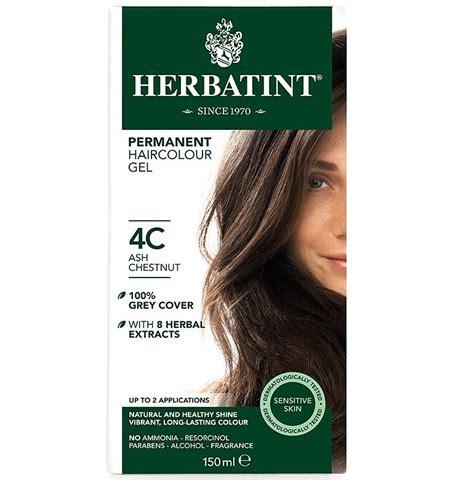 herbatint hair colour ash range 4c 10c the apothecary