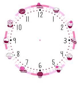 Blank Clock Template by Clock Template Printable Virtren