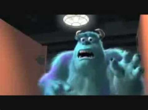 monsters inc bathroom scene sully and boo scene youtube