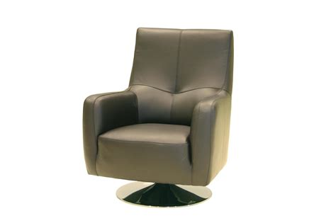 Leather Swivel Armchair by Tribeca Leather Swivel Chair From Tannahill Furniture Ltd