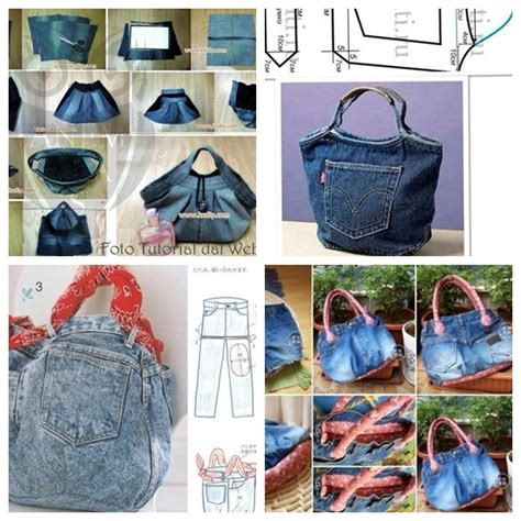 5 Fantastic Bags Made with Recycled Jeans ? Free Guides
