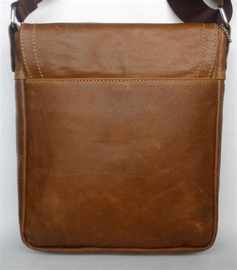 Tas Selempang Kulit Asli Pull Up Tekstur Lembut Halus tas selempang kulit asli sedia dompet kulit tas kulit