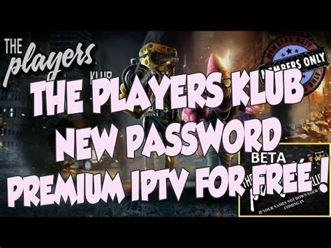 password    iptv kodi addon players klub