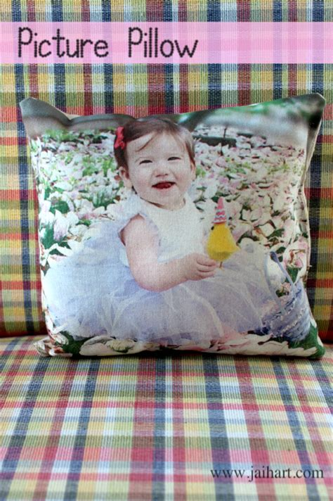 Printing On Pillows by Craftionary